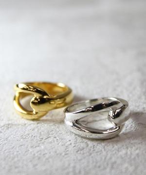 YRGV1803SVR0006【YArKA/ヤーカ】silver925 stoper motif ring [pakun]/シルバー925 デザインリング