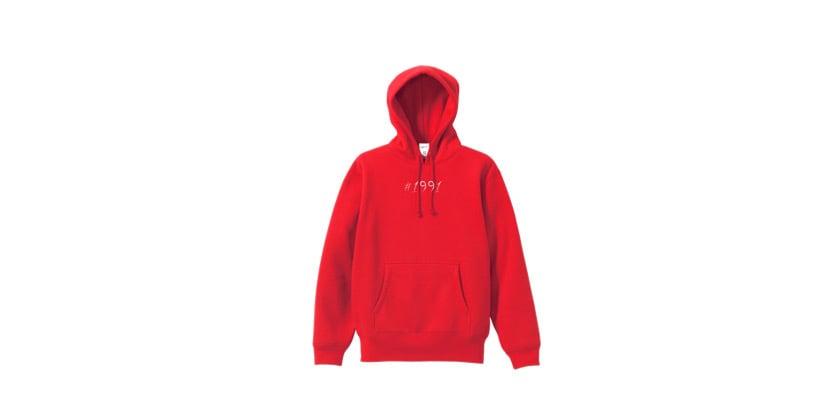 1991 hoodie (RED)
