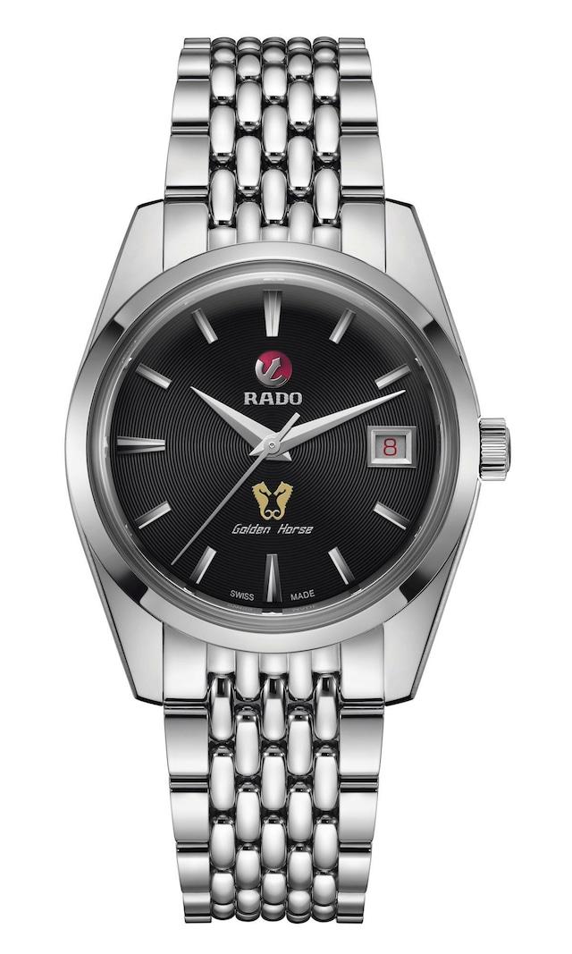 【RADO ラドー】復刻限定品/Golden Horse Automatic ゴールデンホース(ブラック)1957本限定/国内正規品 腕時計