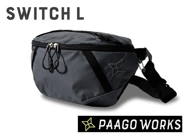【paagoworks】 SWITCH L UG(Urban Gray)