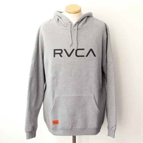 【RVCA】BIG RVCA HOODIE (GREY)
