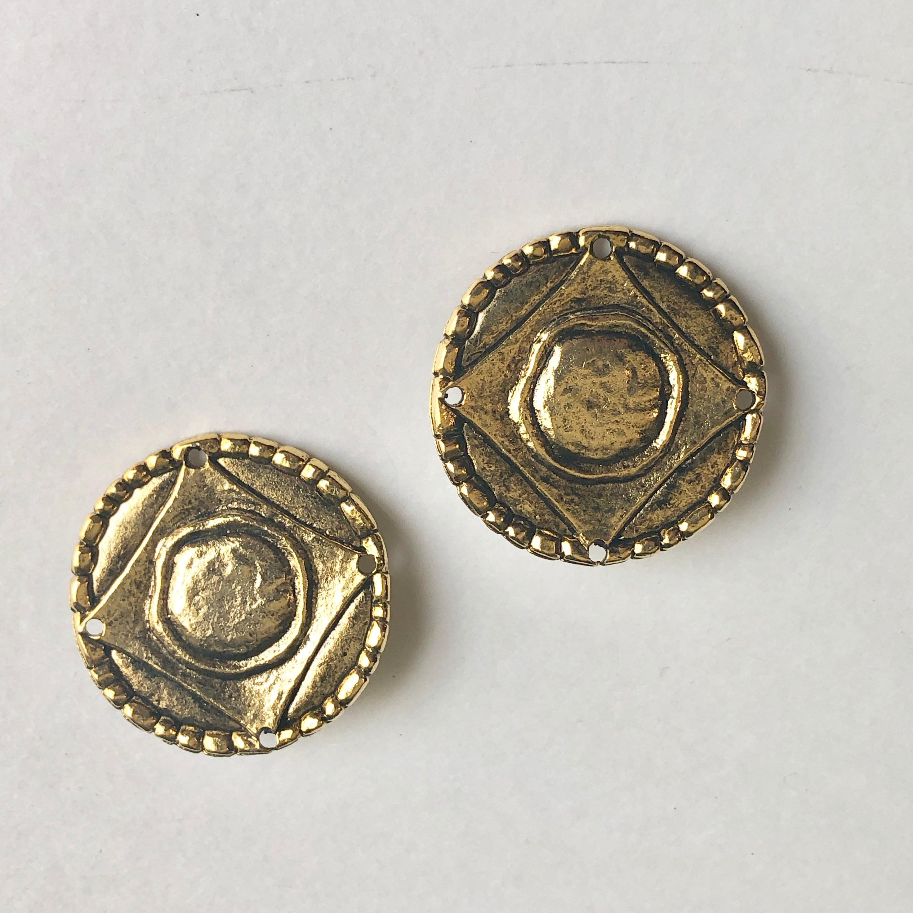 Vintage new stock earrings B-031