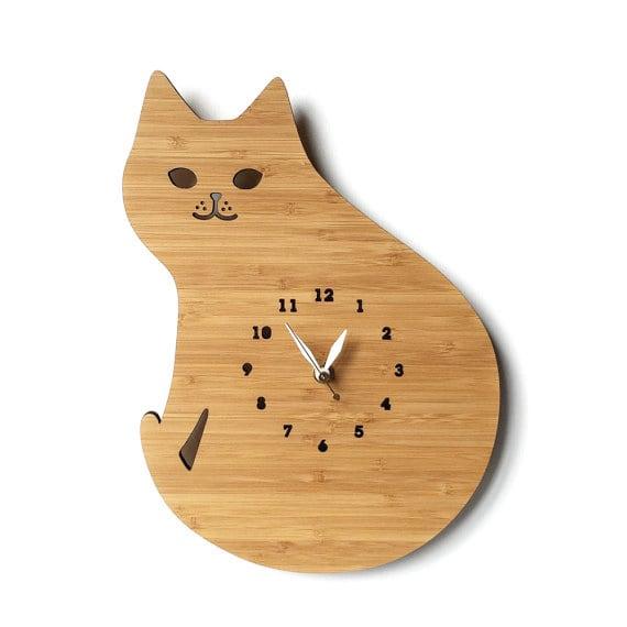 CAT ネコの掛け時計