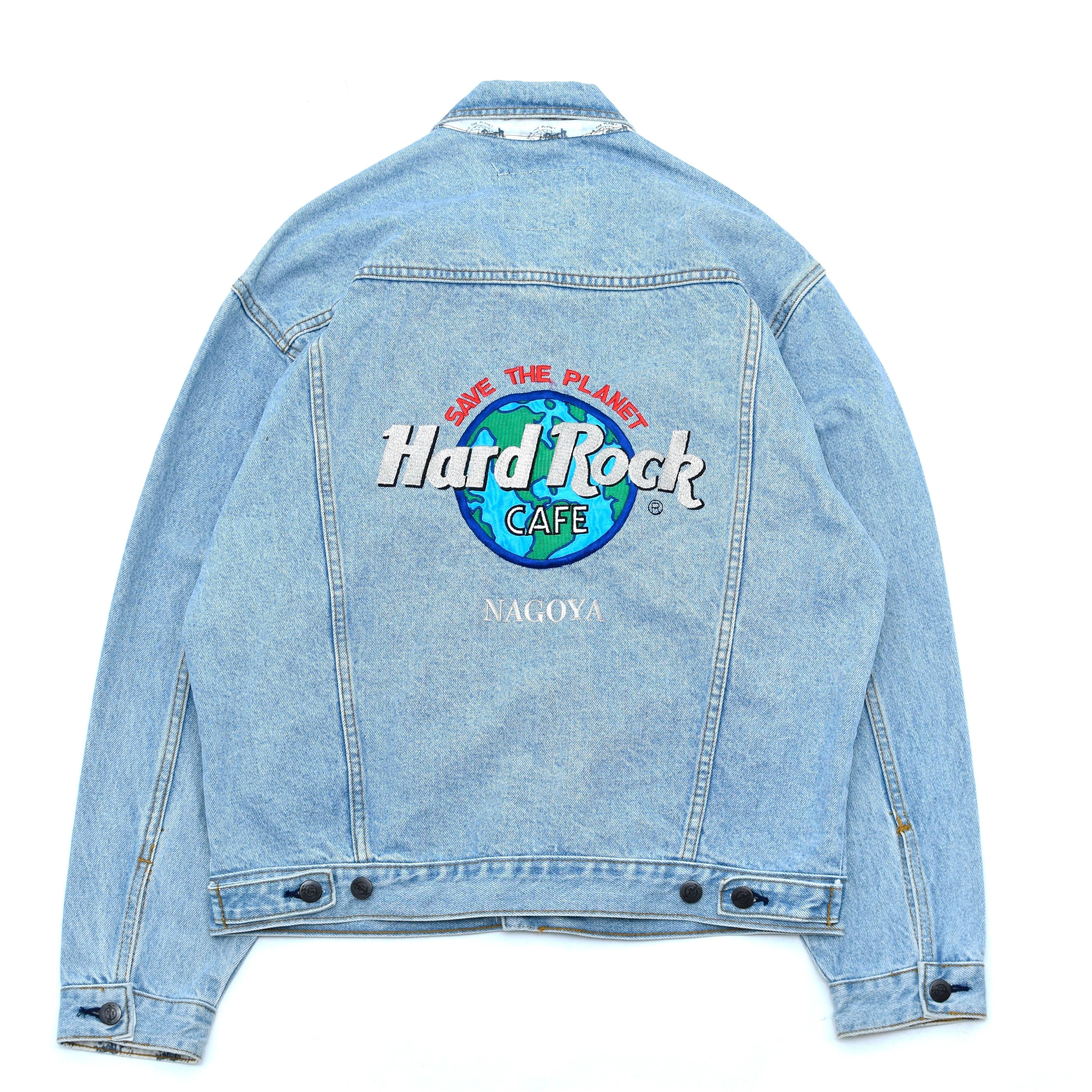 Hard Rock CAFE  denim traker jacket