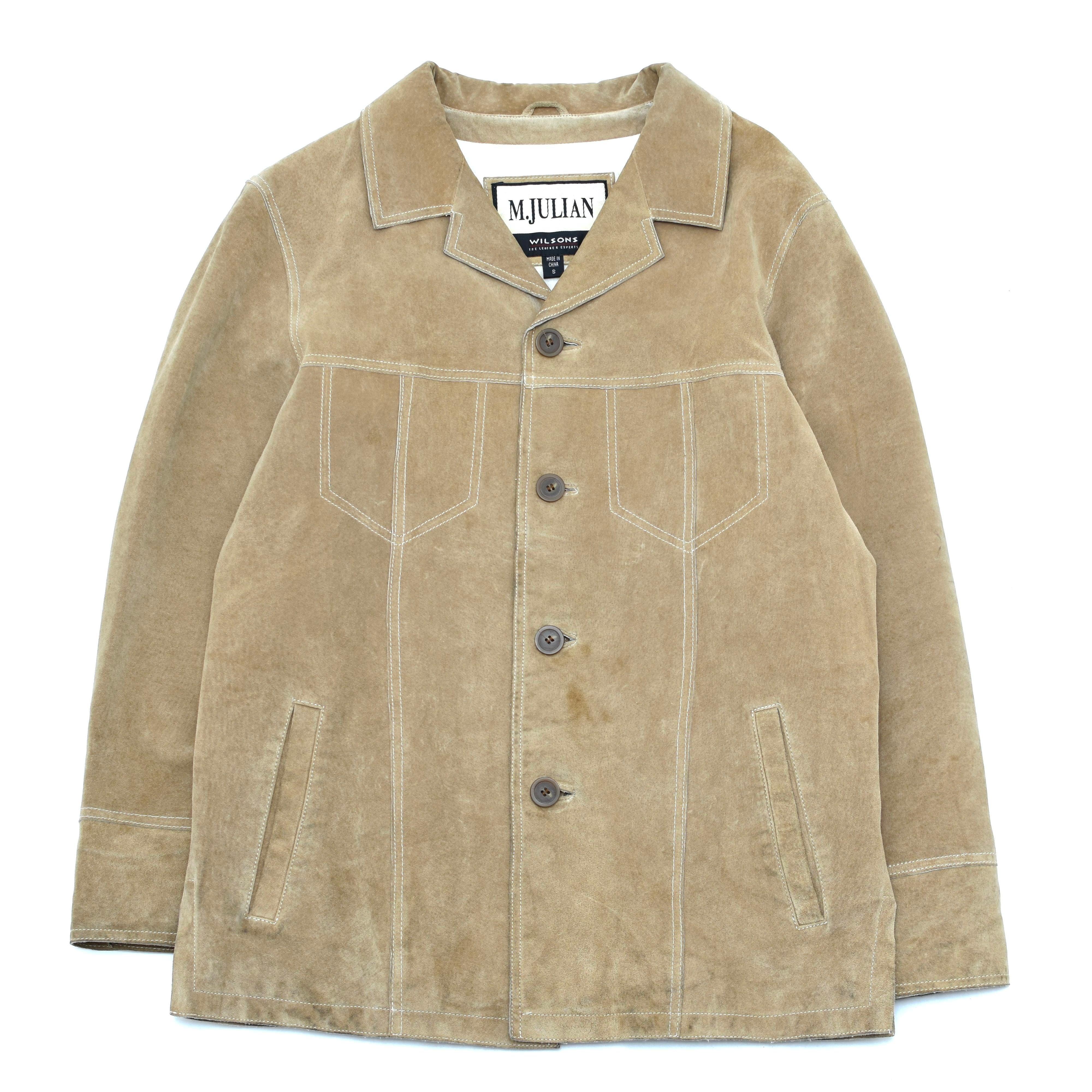 Vintage WILSONS M.JULIAN suede leather jacket