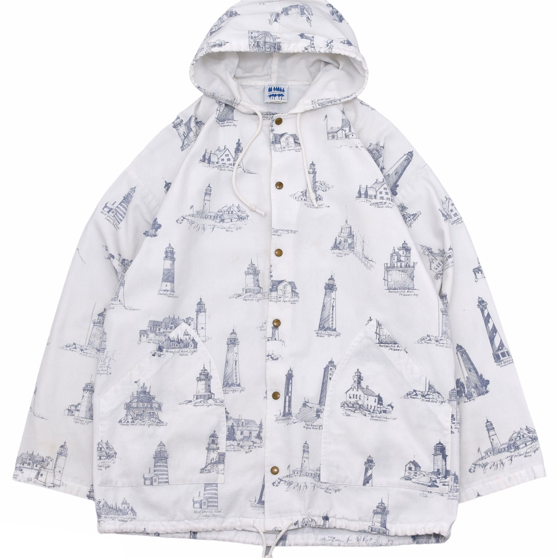 80s-90s MICHIGAN RAG CO cotton jacket