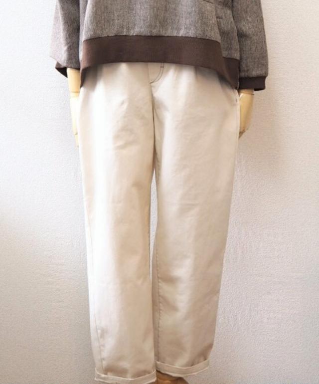 [restock] denim tapered trousers
