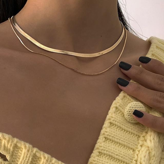 Snake Necklace【4mm】