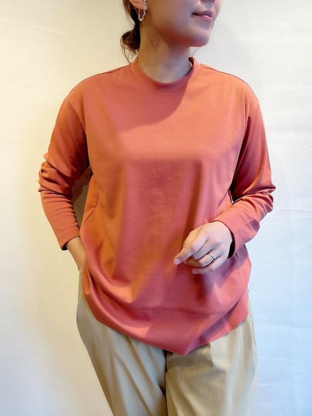 【全色再入荷しました】Dignite collier / バックスリット長袖Tシャツ