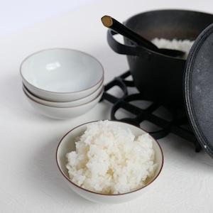 〈再入荷〉【30526】九谷の白 めし碗 / Kutani White Rice Bowl / Showa Era