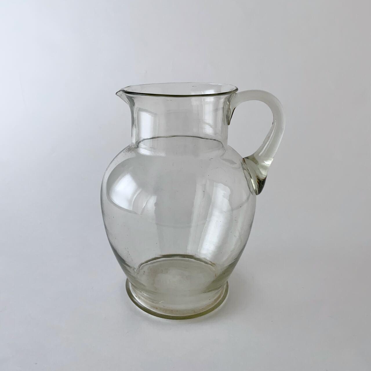 Vintage Clear jug |ヴィンテージのジャグ 6
