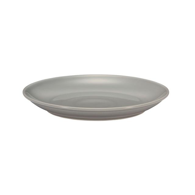 西海陶器 波佐見焼 「コモン」 プレート 皿 210mm グレー 13211
