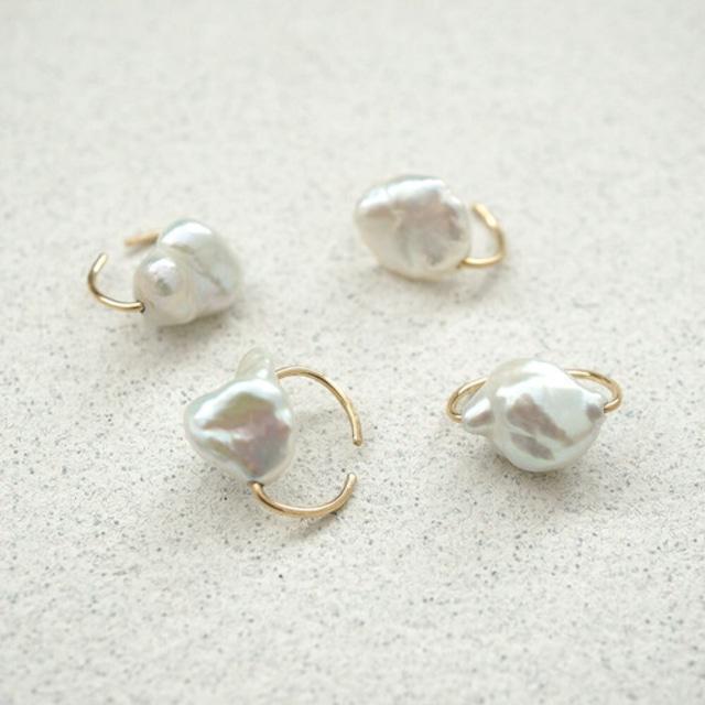 【MUUTS】baroque pearl ear cuff