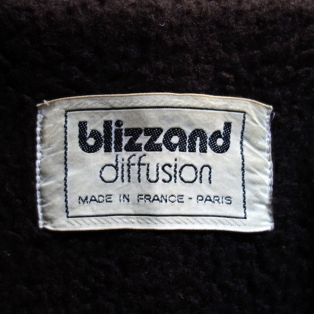 【MADE IN FRANCE】BLIZZAND コーデュロイフーデッドコート