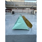 【sandglass】triangle bag(S)mint / 【サンドグラス】トライアングル バッグ(S)本体 ミント