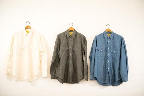 SEVEN  BY  SEVEN シャンブレータックシャツ