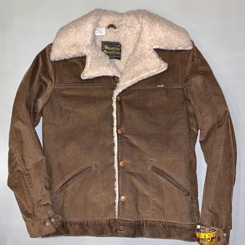 Wrangler Wrange coat ランチコートJL457BN / Corduroy  S-s 70-80's Dead stock  #105