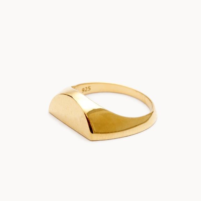 Half Signet Pinky Ring|ピンキーリング - art.1607P011020L