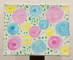 ベッキー 原画作品(1点もの)作品No.097『花束を』
