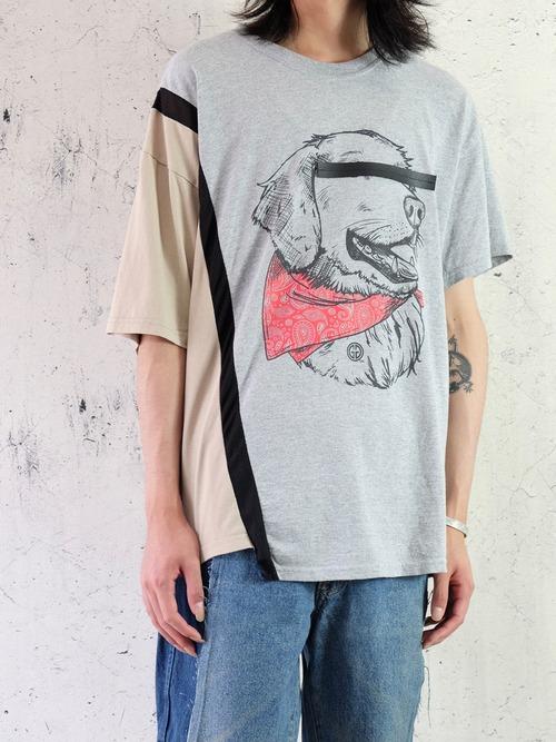 mosaic design T-shirt ①