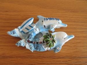 Hawaii マグネット雑貨 ドルフィン