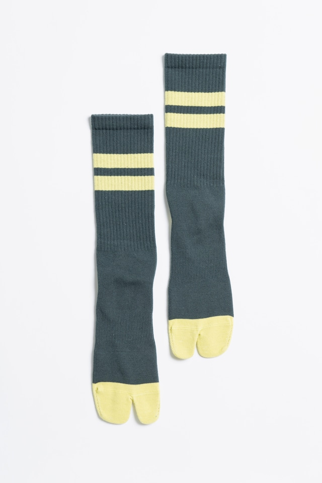 Signature Socks(Forest Green × Lime)
