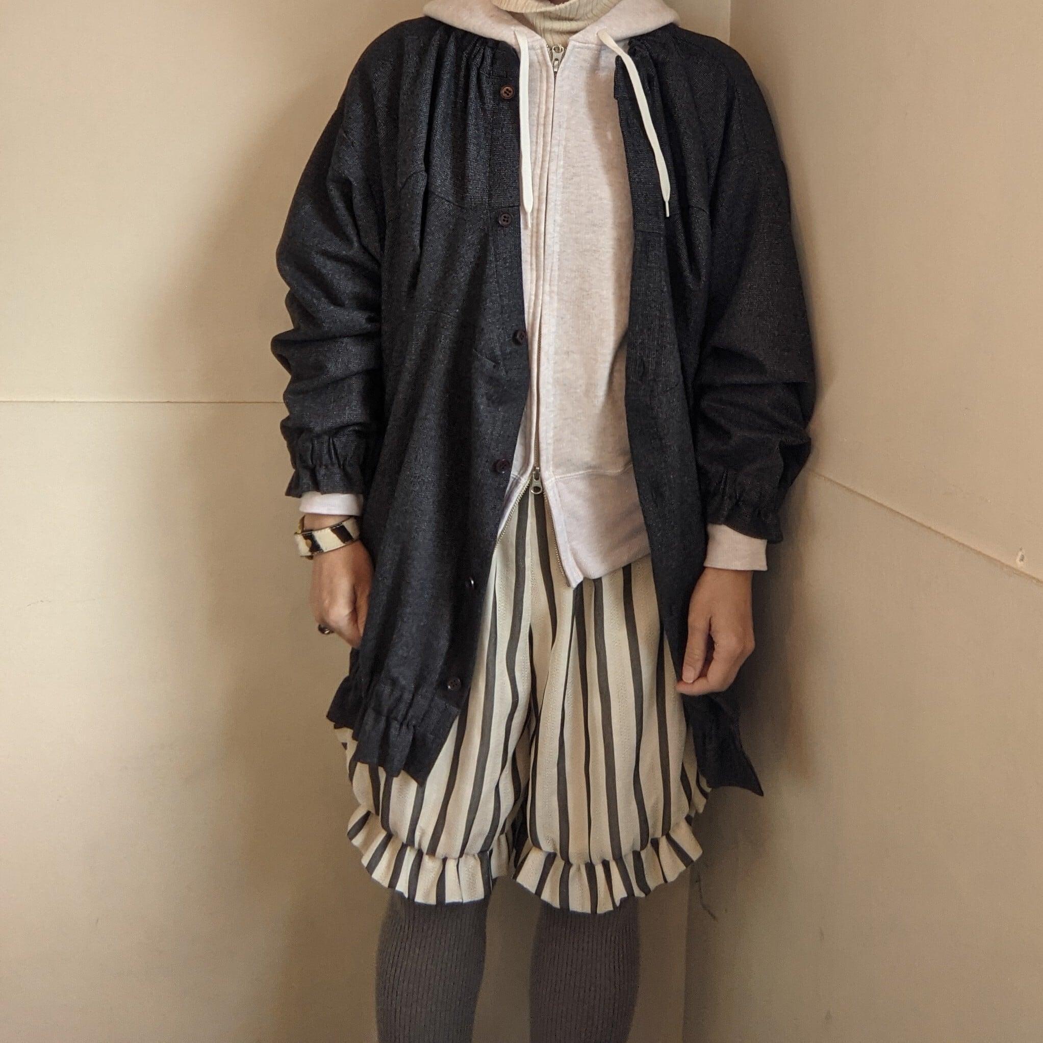 【 DANFANEUIL 】ダナファヌル / 刺繍入りフードWzipパーカー / hoodie