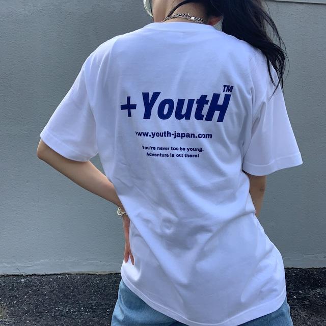 【人気No.4】+YoutH Original Logo S/S Tee YH2021