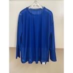 【hippiness】 reversy espandy long sleeve(blue) / 【ヒッピネス】リバーシー エスパンディー ロング スリーブ(ブルー)