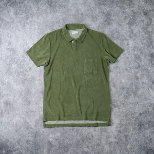 """【Universal Works.】 VACATION POLO """"OLIVE"""" ユニバーサルワークス"""