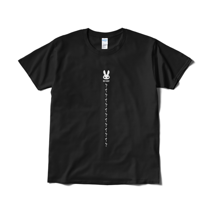 【税込・送料無料】BAD RABBIT Tシャツ001ブラック