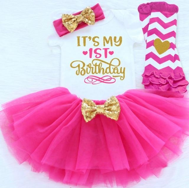 1〜2歳 誕生日ドレス 4点セット