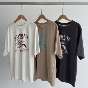 カジュアルプリントTシャツ RD8578