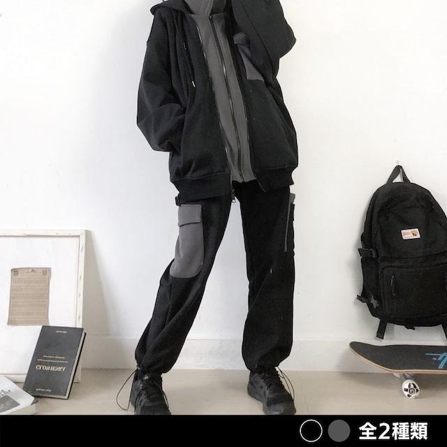 裏ボアスウェットカーゴパンツ(全2色) / HWG357