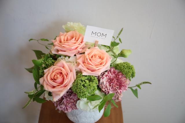 [10日以降発送]:[Mother'Day] フラワーアレンジメント M