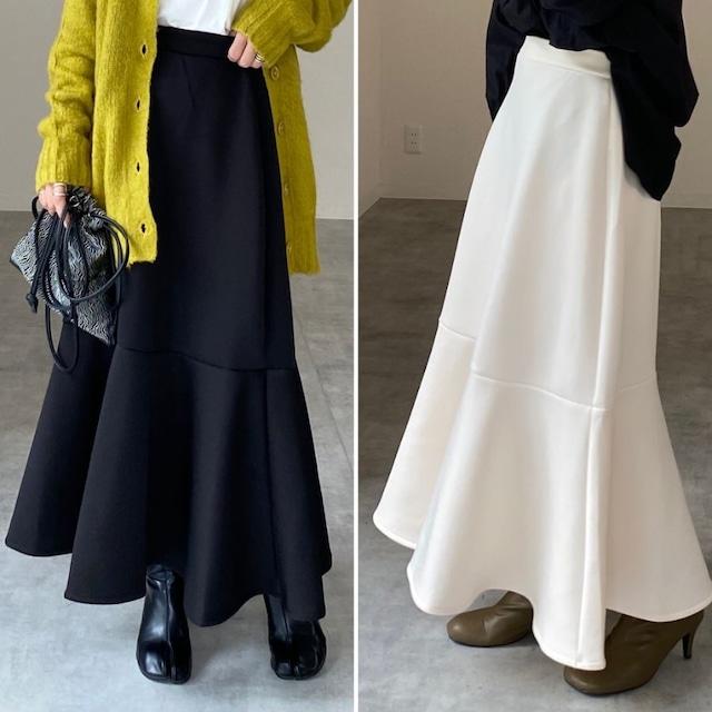 ◆即納◆ハイウエストポンチロングマーメイドスカート OP-t252