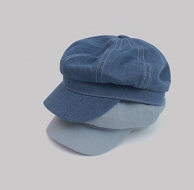 denim casquette 2color