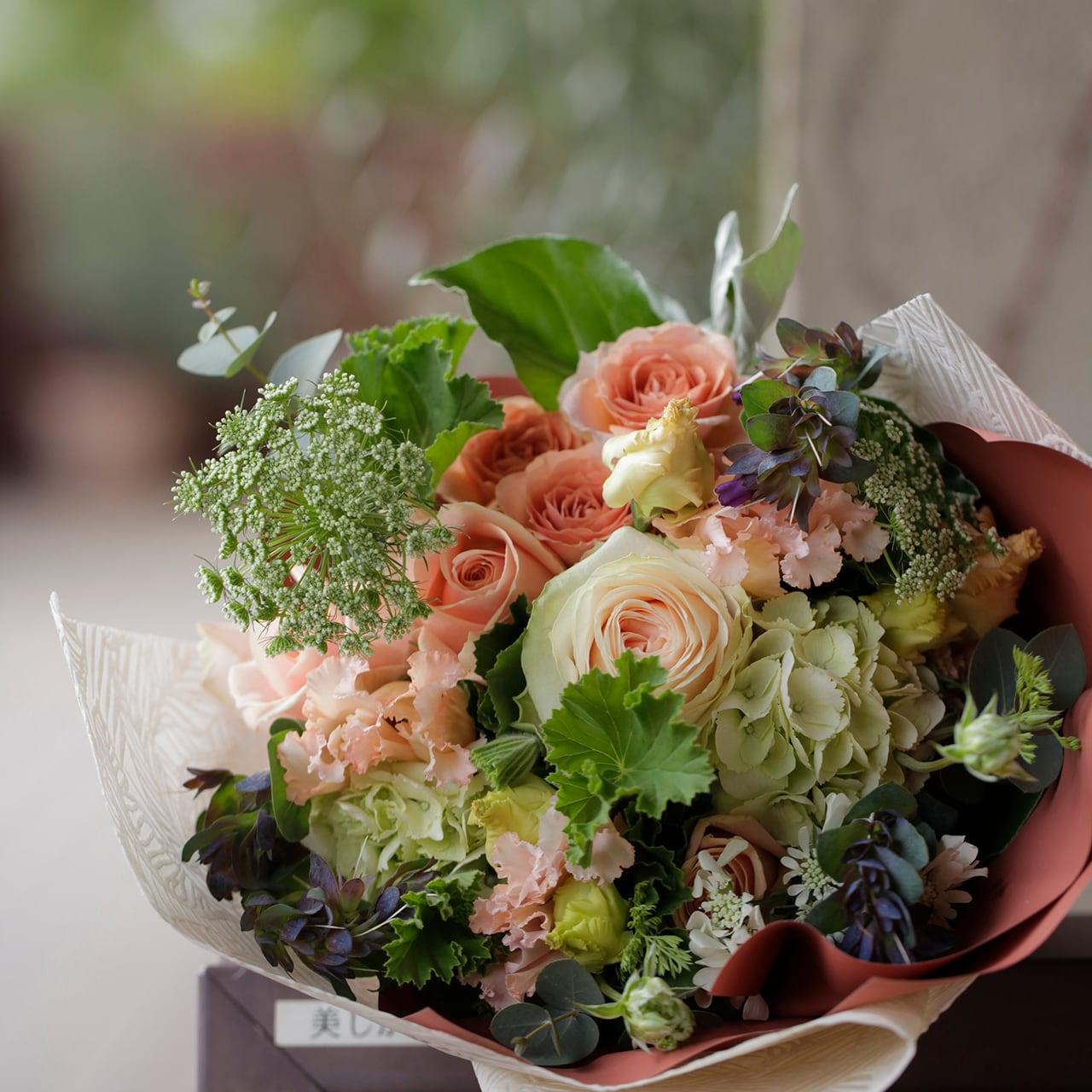 母の日DIY 花束教材(動画付き)