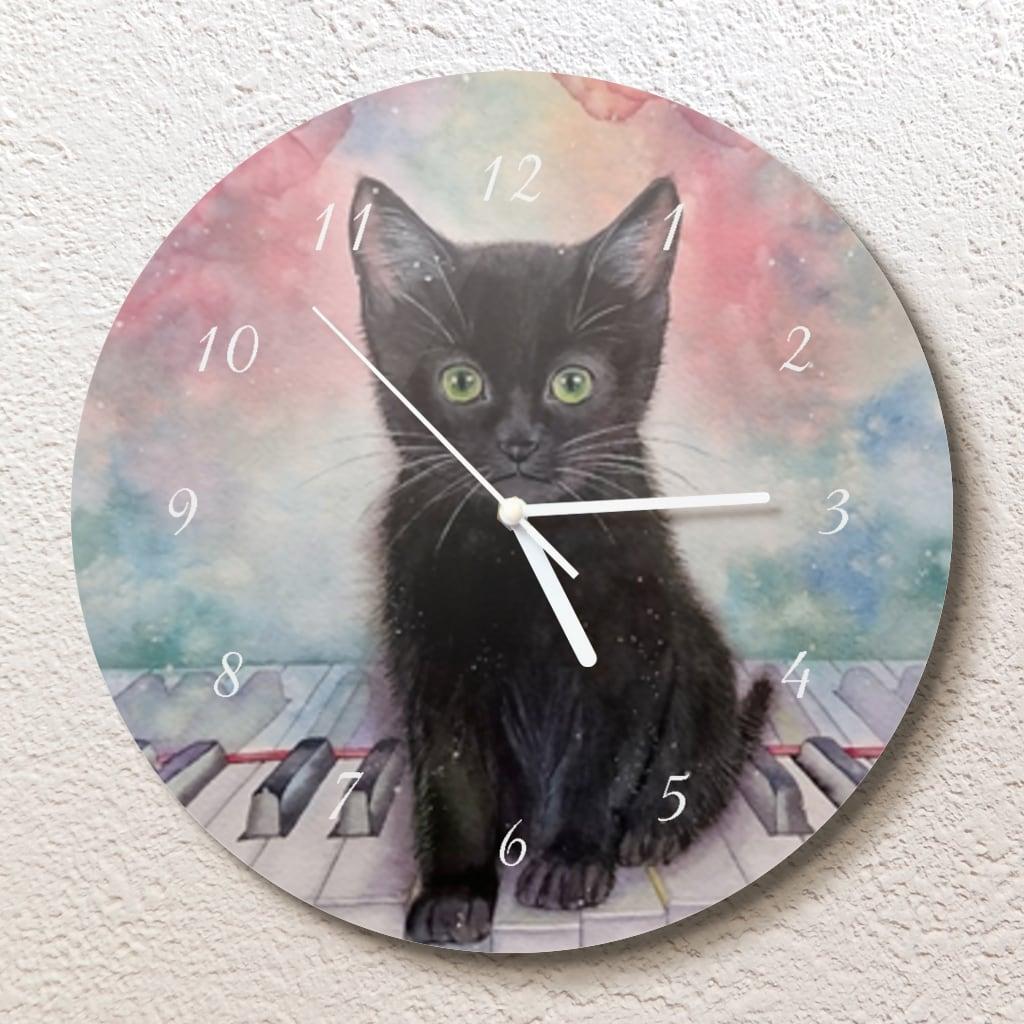 小さな夜のため息  壁掛け時計(L)