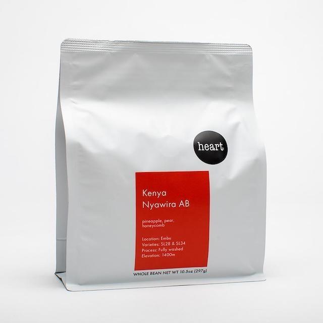 HEART ロースターズ - ケニア NYAWIRA AB コーヒー豆 226g