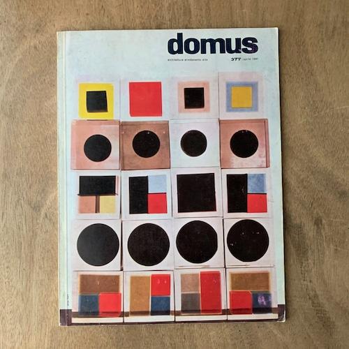 Domus 377  / ジオ・ポンティ