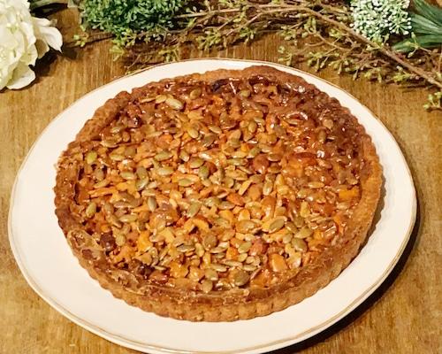 キャラメルナッツのタルト