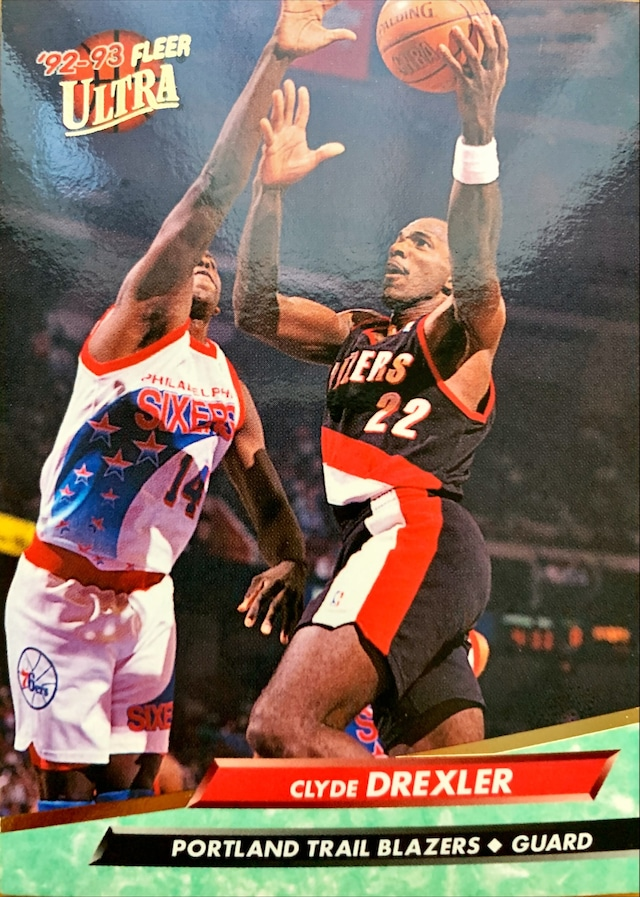 NBAカード 92-93FLEER Clyde Drexler #149 TRAILBLAZERS