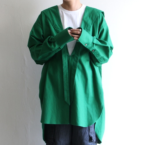 JUN MIKAMI【 womens 】tie-collar blouse