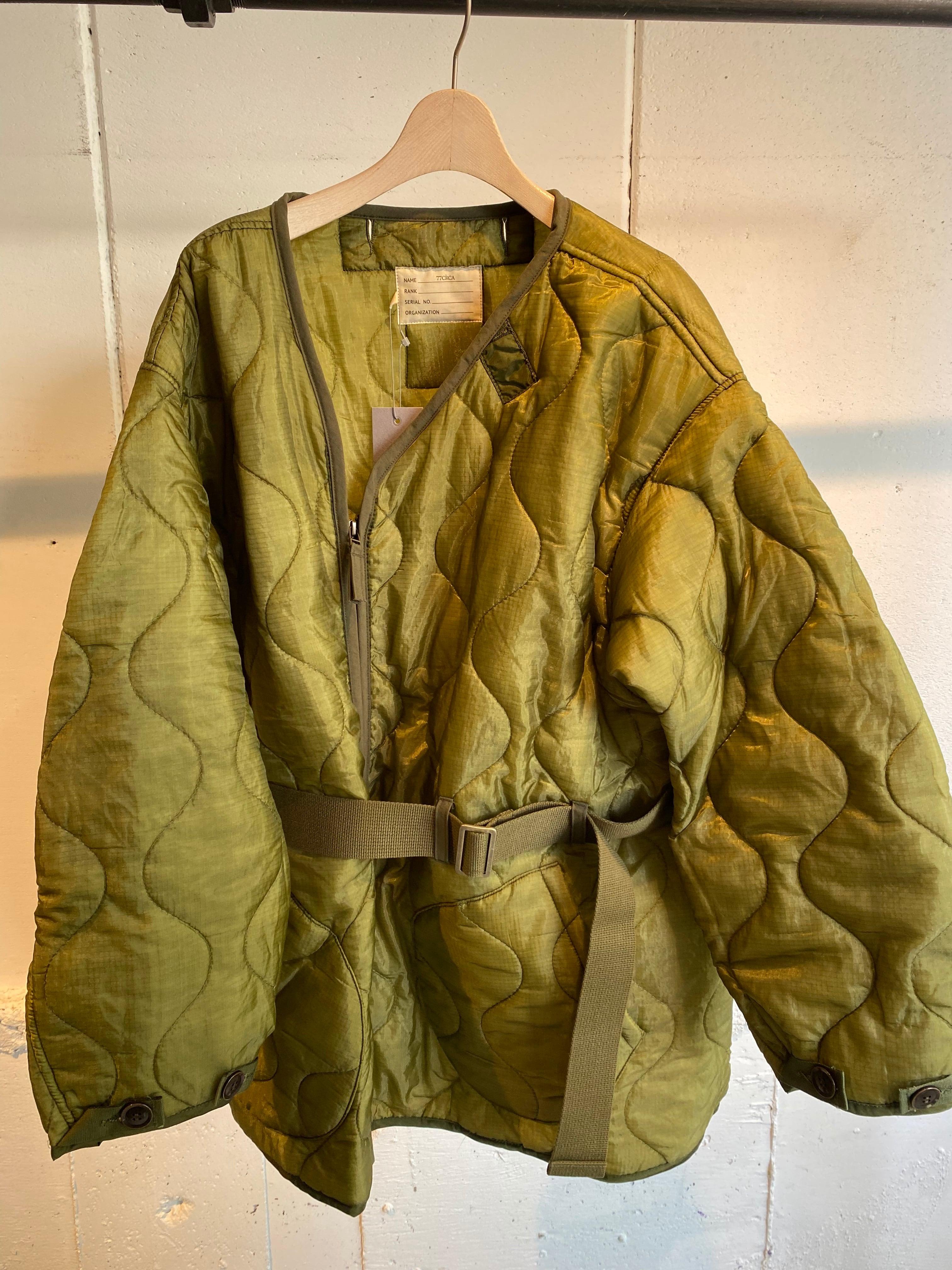 77circa circa make quilting zip up jacket