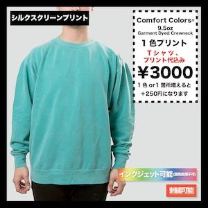 Comfort Colors Garment Dyed Crewneck Sweatshirt (品番CC1566)