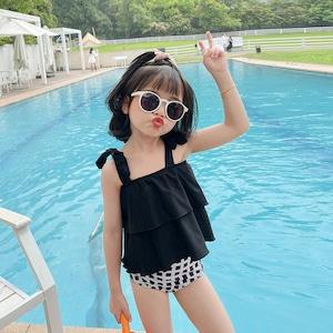 子供水着 キッズ水着 ビキニ 女児 女の子水着 タンキニ ジュニアスイミング ウェア セパレート水着80cm-140cm 9326