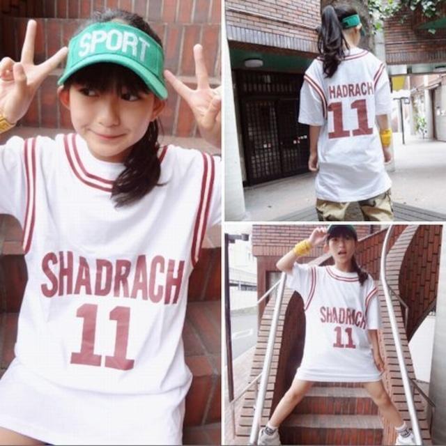 110~160cm★半袖 ロングT カジュアル Tシャツ ロゴ コットン