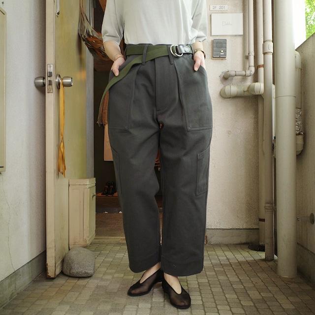 TUKI(ツキ) combat pants / steel blue