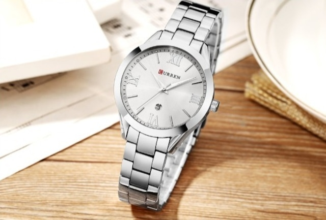 CURREN LT-C9007(silver) レディース腕時計